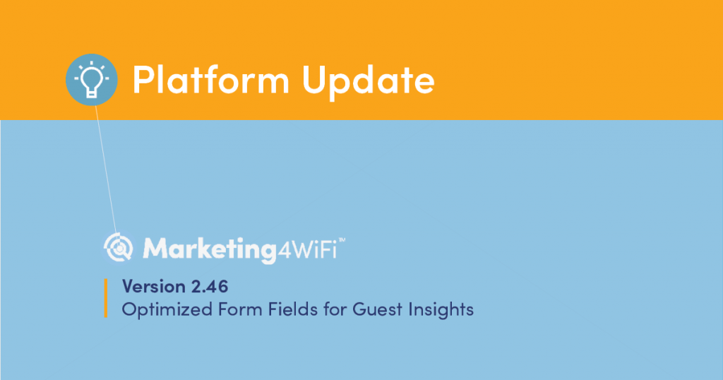 GoZone WiFi Introduces New Form Fields for Guest Insights main image
