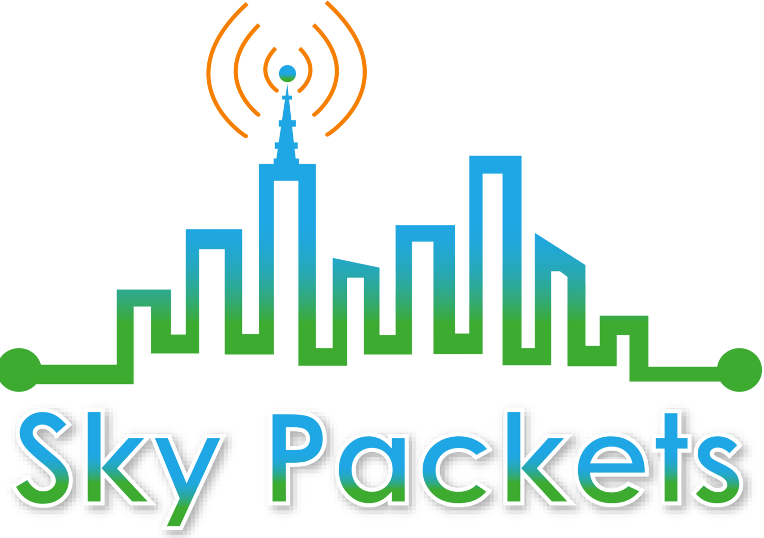 Sky Packets logo