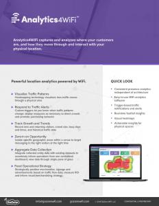 Analytics4WiFi-Data-Sheet