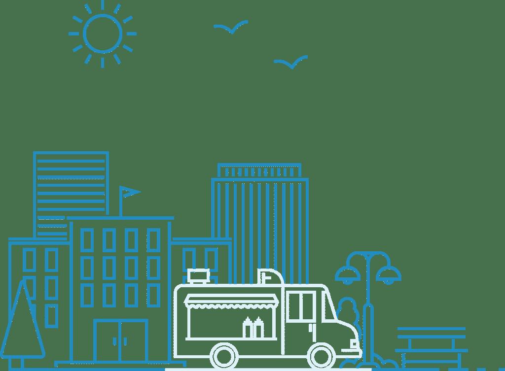 Food Truck Illustration (1)