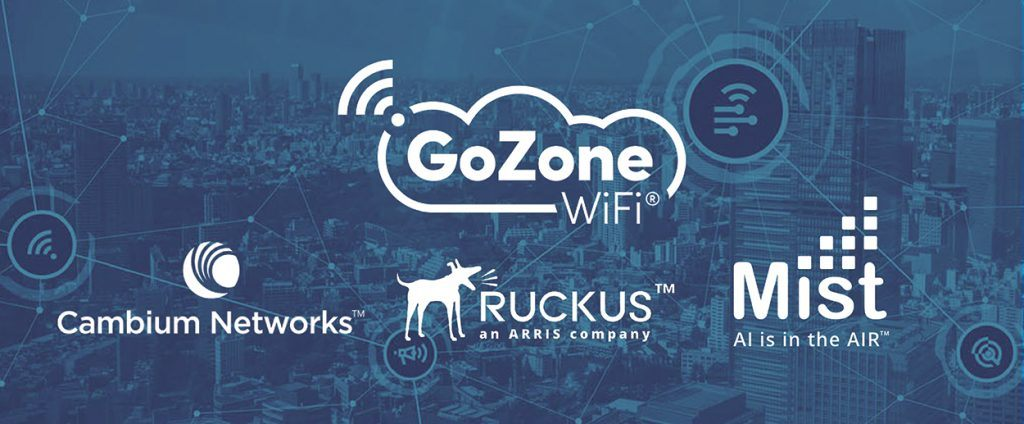 GoZone WiFi Expands Partnerships to Include Cambium Networks, Ruckus Networks, and Mist Systems main image