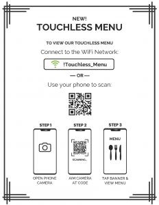Touchless-Menu-QR-Flyer