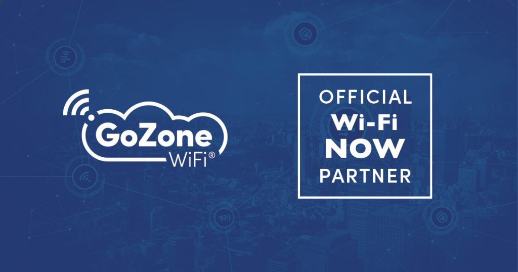 GoZone WiFi Is Selected As Official Wi-Fi Analytics Partner For Wi-Fi NOW main image