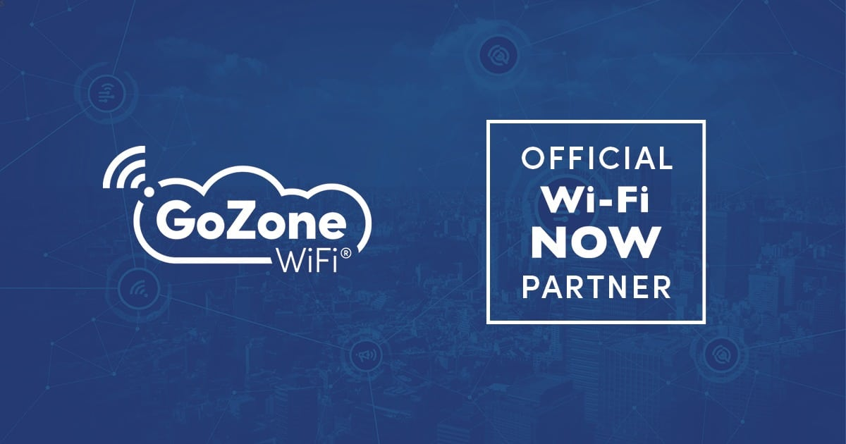 GoZone WiFi Is Selected As Official Wi-Fi Analytics Partner For Wi-Fi NOW featured image